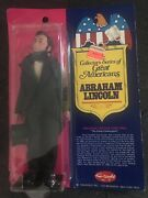 1976 Vintage Fun World Abraham Lincoln Great Americans Figures. New