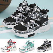 Kids Trainers Boys Girls Running Children Sports Shoes Gym School Sneakers Size