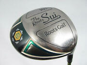 Used Roots Golf Gosen The Roots Sui Driver 2017 1w Original Carbon