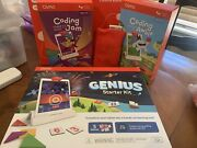 Brand New Osmo Stem/educational Genius Starter Kit + Accessories And Coding Kits