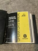 New Holland Skid Steer Ls160 Ls170 Service Mannual Parts Manual