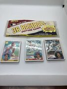 3 Pack Lot 1983 Topps Baseball Unopened Grocery Cello Pack/12-cards Per Nice