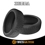 2 New Zenna Argus Uhp 285/25/22 95w All-season Traction Tire