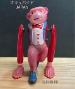 Vintage Occupied Japan Front Turning Monkey, Celluloid Spring, Circa 1940s-50s