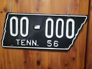 1956 Tennessee Sample License Plate