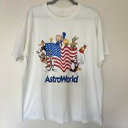 Super Rare Vintage Astroworld Six Flags X Looney Tunes Large