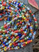 African Christmas Beads -6 Strands [74439]