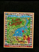 Complete 1000 Piece Lake George New York Jigsaw Puzzle White Mountain 364s