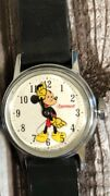Vintage 1970 Ingersoll Mickey Mouse Watch - Exe - Runs