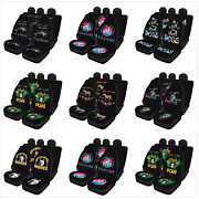Cool Car Seat Cover Auto Accessories Set Of 4 Pieces Fits For Men Women Childs