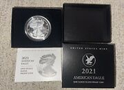 American Eagle 2021 One Ounce Silver Proof S San Francisco 21emn In Hand