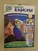 Leap Frog Leapster Explorer Camera And Video Recorder Accessory Brand New In Box