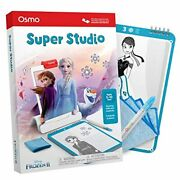 Osmo - Super Studio Disney Frozen 2 - Ages 5-11 - Learn To Draw - For Ipad Or Fi