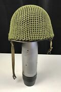 Wwii Us Army Usmc M1 Helmet Westinghouse And Capac Liner 1252b Shell Stamp