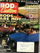 February 1993 Rod And Custom Von Dutch Tribute Frog Follies 1956 Ford 1956 Olds
