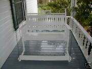 Victorian 48 Porch Swing With Foot Pedal Sfk Furniture