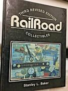 Railroad Collectibles 3rd Edition Book