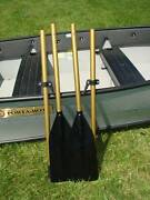 Boat Oars With Oar Locks New Breakdown 6 1/2and039 Free Shipping Made In Usa