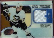 2005-06 Ice Cool Threads Patch Sidney Crosby 25/50 2 Colors From Rc Year