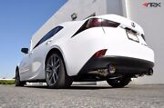 2014-2016 Is250 Is350 Awd Only Ark Grip True Dual Exhaust W/ Polished Tips