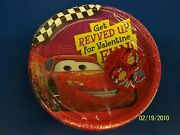 Disney's Cars Valentine's Day Party 7 Plates