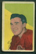 1952 53 Parkhurst Hockey 66 Marty Pavelich Vg-ex Detroit Red Wings Card