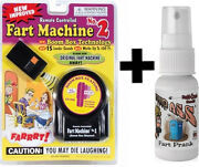 1 Fart Machine 2 With Remote + 1 Liquid Ass Spray Bottle Stink Bomb Combo
