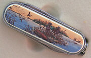 Swiss Knife Barlow Photo Reproduction In Color Lab Pair Labrador Dog 506545c New