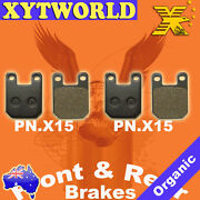 Front Rear Brake Pads For Gas-gas Contact Jt25 238cc 93-94