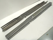 Ford Model A Coupe Rear Half Subrail / Sub Rail Set 1928-1929