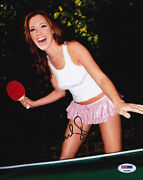 Carly Craig Signed 8x10 Photo American Housewife Sexy Psa/dna Autographed