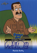 Family Guy Seasons 3, 4 And 5 Autograph Trading Card Pd1 By Patrick Duffy