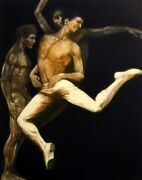 G H Rothe Solo Of Gemini Art 1982 Art Hand Signed Mezzotint Limited Edition L@@k