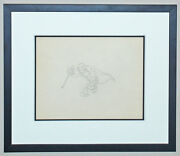 Disney Production Drawing Parade Of The Award Nominees Dr. Jeckyll 1935 Framed