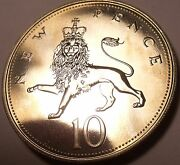 Large Proof Great Britain 1971 10 New Penceproofs Are The Best Coinsfree Ship