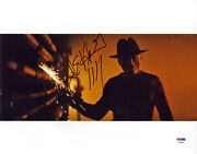 Jackie Earle Haley Signed 11x14 Photo Nightmare Freddy Krueger Psa/dna Autograph