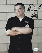 Dave Hester Signed 8x10 Photo Yep Storage Wars Psa/dna Autographed
