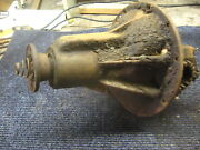 Vintage 1933 Graham Rear End Gears Differential Pumpkin Assembly
