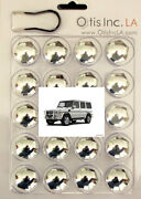 99-9712-c-g-class Chrome Lug Covers Mercedes And Amg G Class Wheels Free Shipping