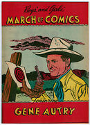March Of Comics 78 9.4 White Pages Golden Age Gene Autry