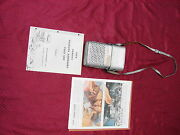 58 Pontiac Trans-portable Radio W/ Option Accessory Leather Carrying Case