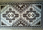 1970and039s Navajo Two Grey Hills Weaving