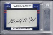 2012 Leaf Sports Icons Cut Auto Gerald Ford 38th President Of The United States