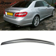Fits 10-16 Mercedes Benz W212 A Style Rear Trunk Abs Spoiler Wing Lip Unpainted