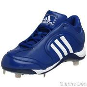 New Adidas Excelsior 6 Mid Steel Baseball Cleats Mens Size 13.5 80