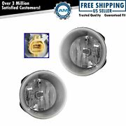 Fog Driving Light Lamp Left And Right Pair Set Of 2 For 11-13 Dodge Durango Suv