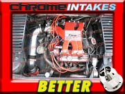 Cf Black Red 84 85-88 Pontiac Fiero 2.8l V6 Without Cruise Control Air Intake