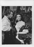 Keith Andes Linda Darnell Busty Vintage Photo Blackbeard The Pirate
