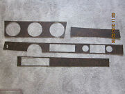 1970 Cutlass And 442 Coupe Console And Dash Wood Grain Trim Kit