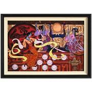 The Emperors Dance Limited No. And Hand Signed By Zu Ming Ho Custom Framed Rare